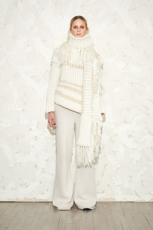 winter whites, ladies, victor alfaro, fall 2015, knits