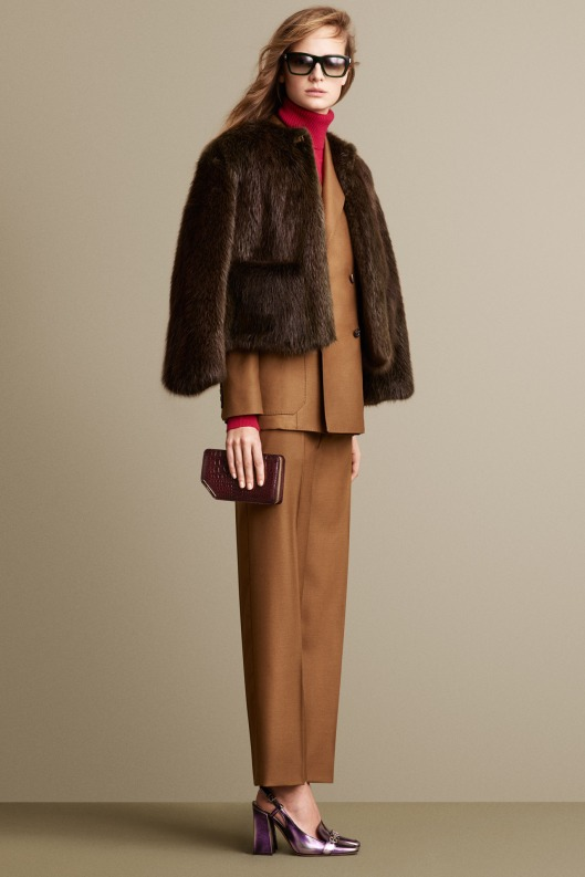 bally, a14, fur, short jacket
