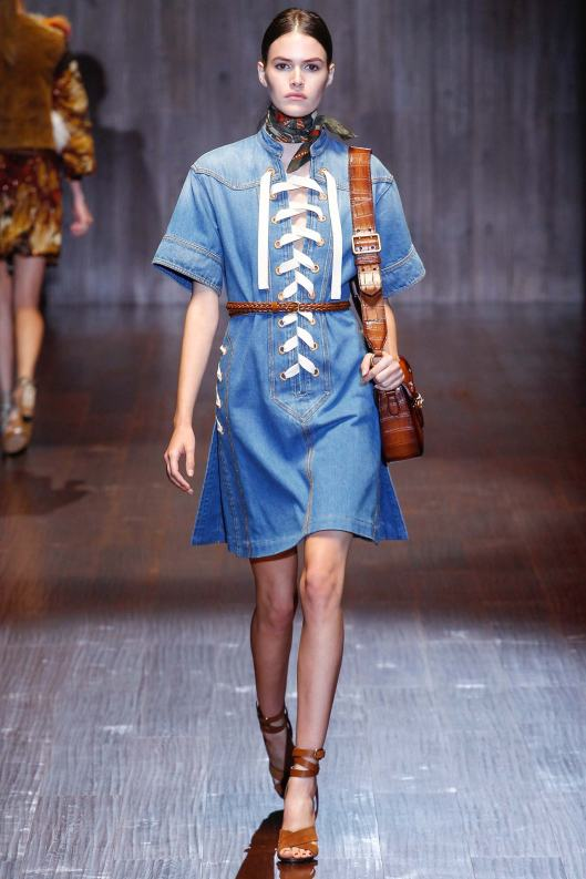 denim dress, s15, gucci,