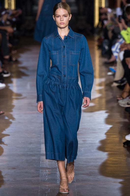 denim dress, stella mccartney, s15