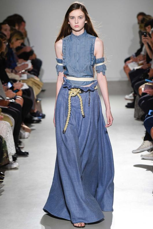 denim dress, veronique branquinho, s15