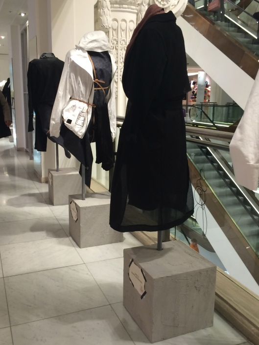 agender, instore display, selfridge london