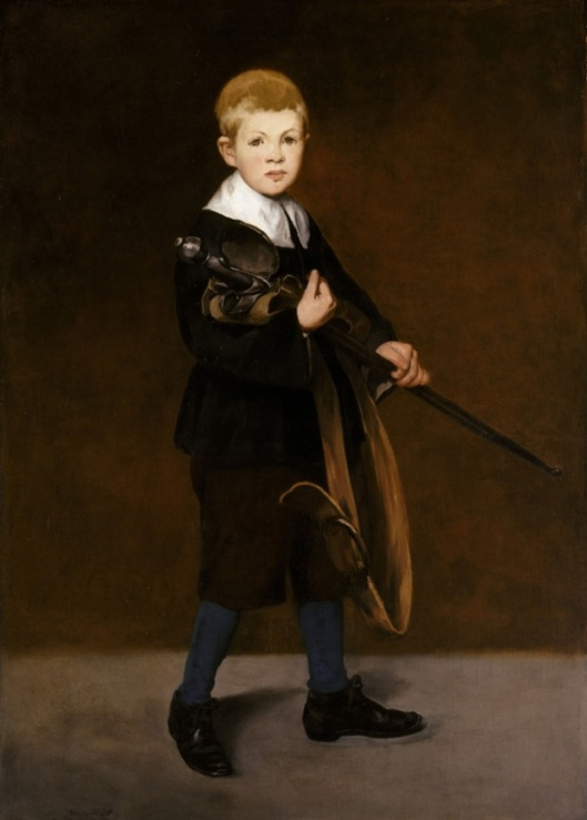inventing impressionism, boy with a sword, 1861, edouard manet, the guardian 9812d722-5d4f-4b1b-8542-a2c0eefcdd40-729x1020