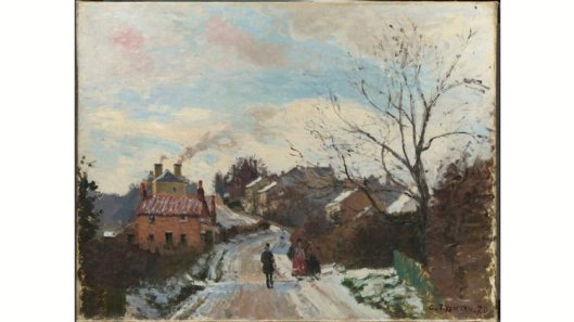 inventing impressionism, fox hill, upper norwood, 1870, camille pissarro, time out image