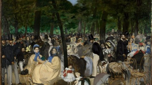 inventing impressionism, music in the tuileries gardens, 1862, edouard manet, time out image