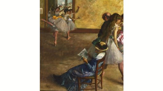 inventing impressionism, the ballet class, 1880, edga degas, time out image