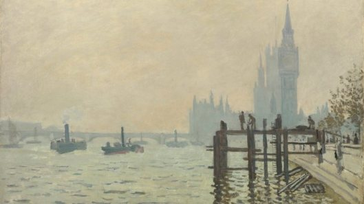 inventing impressionism, the thames below westminster, 1871, claude monet, time outimage