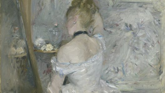 inventing impressionism, woman at her toilette, berthe morisot, time out image