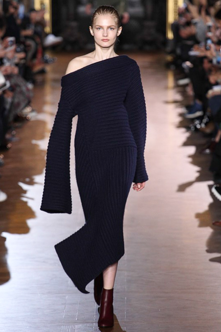 PFW, a15, stella mccartney, knit dress