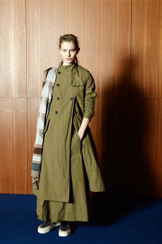 PFW, a15, Kolor, trench two piece