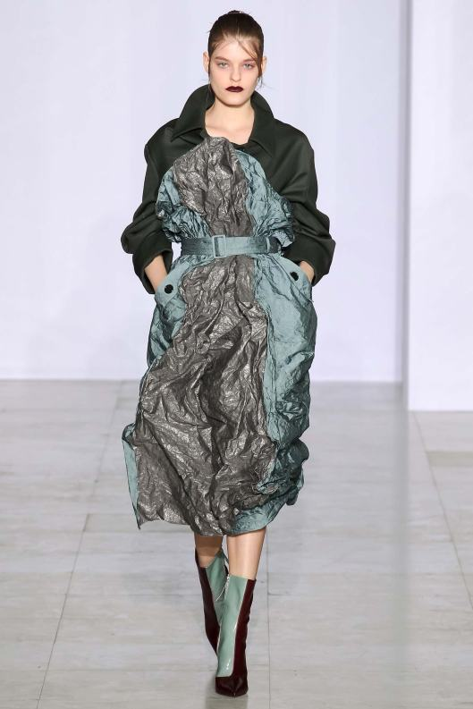PFW, a15, yang li, crushed fabrication