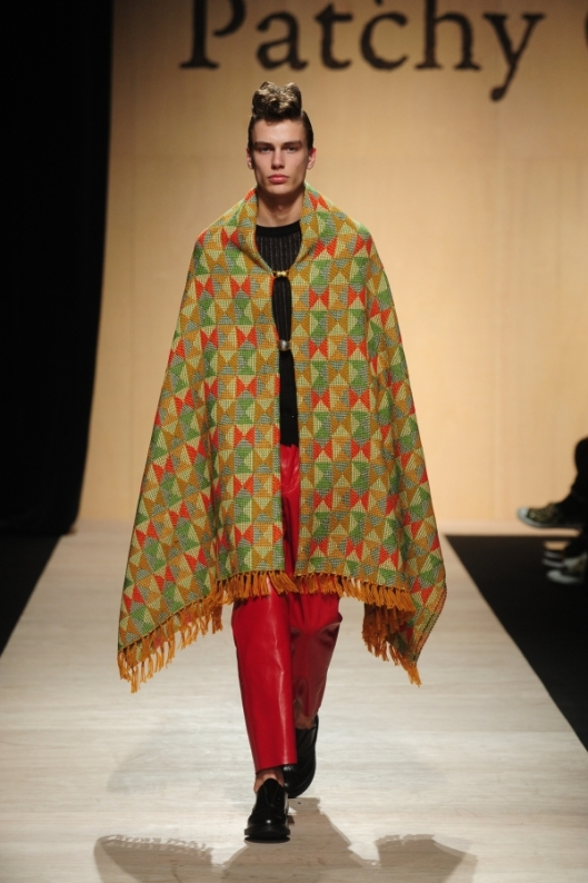 tokyo, a15, men, patchy cake eater, blanket, outerwear, runway_00130_x