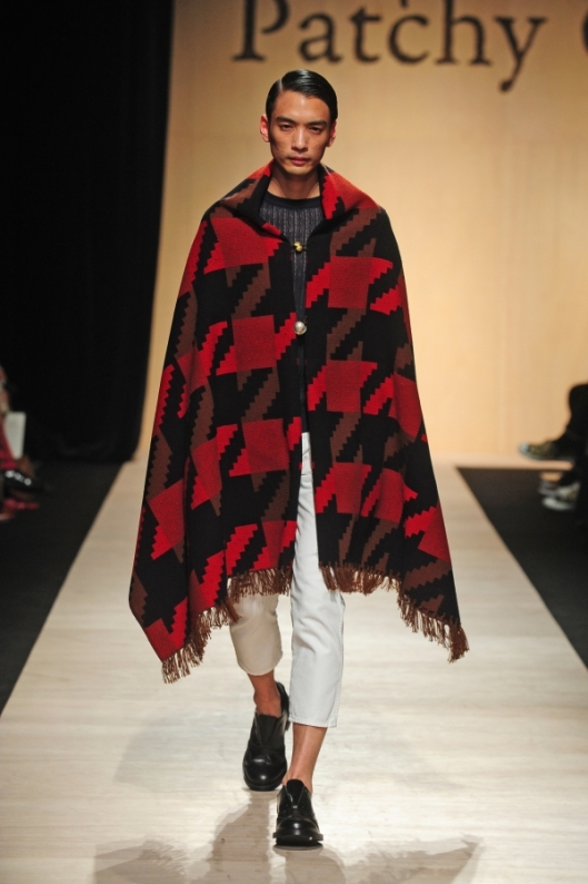 tokyo, a15, men, patchy cake eater, blanket, outerwear, runway_00140_x