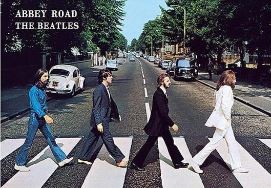beatles, abbey road, album cover