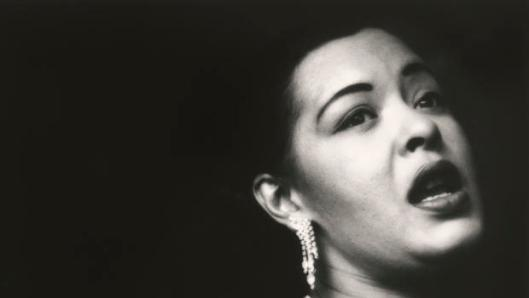 billie holiday, portrait