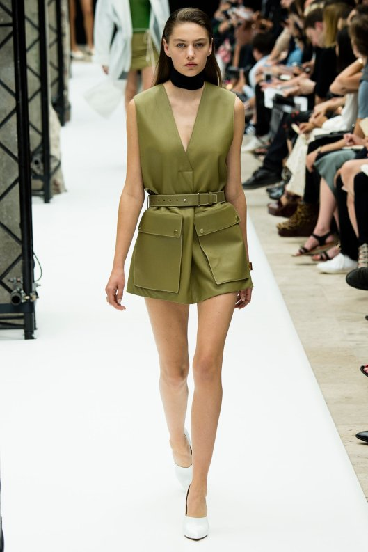 camo green, playsuit, acne studios, s15