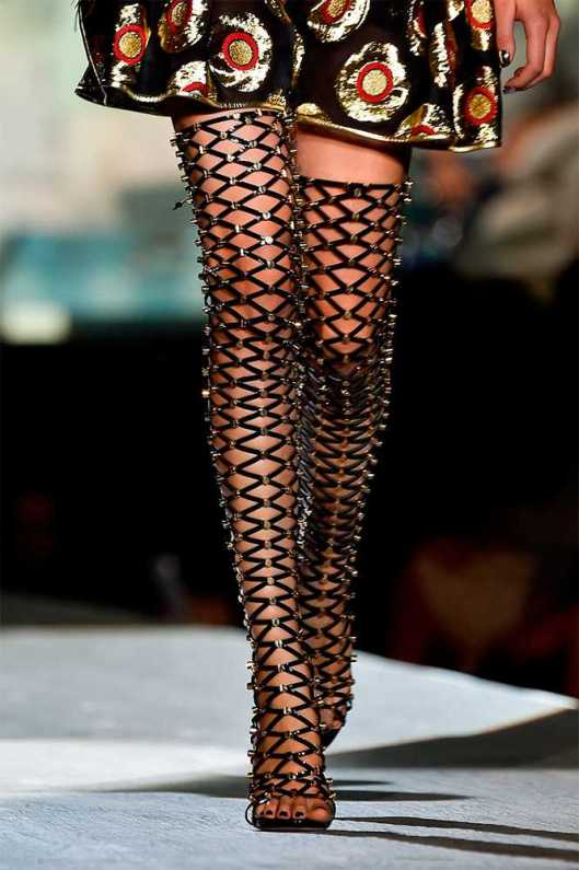 gladiator, mesh, thigh high, dsquared 2