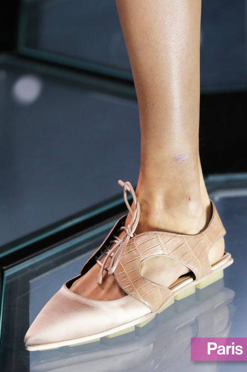 pointed toe flats, balenciaga