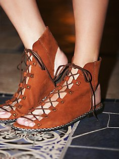 lace up, ankle gladiator sandal, free people