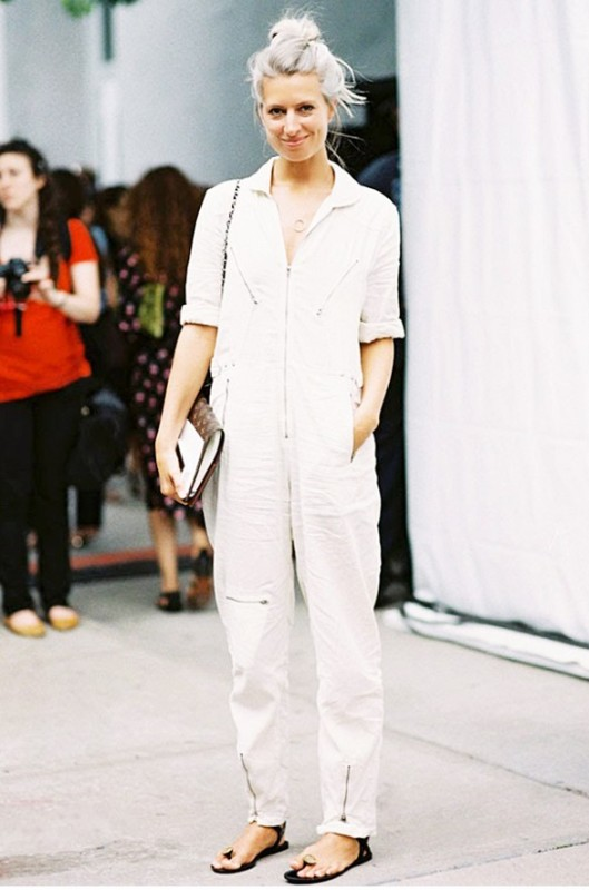summer whites, boiler suit