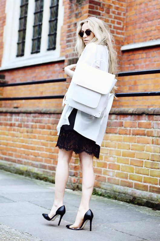 summer whites, backpack