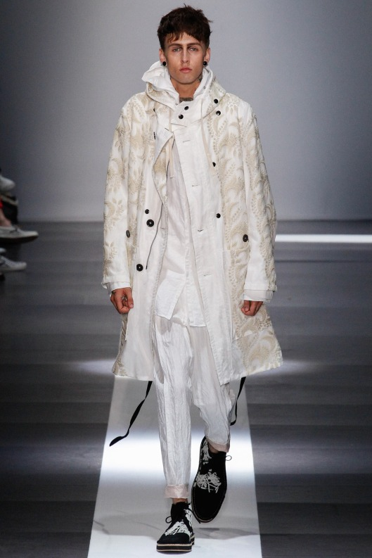 summer whites, men, ann demeulemeester
