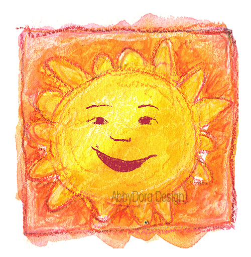 sun personified, for post on poem Summer Sun by Robert Louis Stevenson