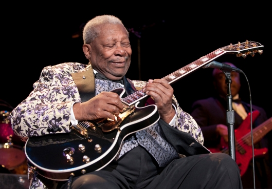 BB King, portrait