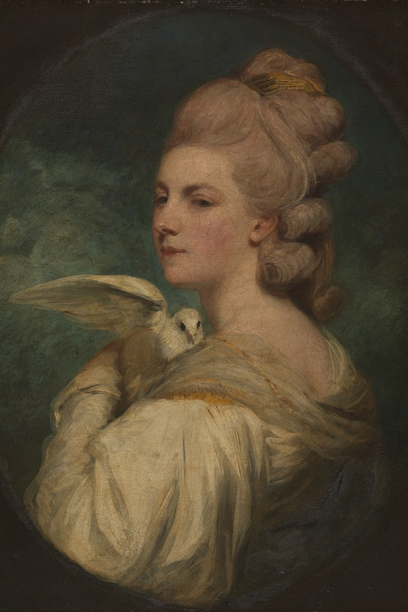 Mary Nesbitt, 1781 by joshua reynolds