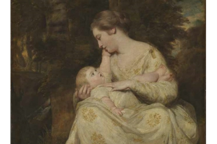 Mrs. Susanna Hoare and child by joshua reynolds, wallace collection