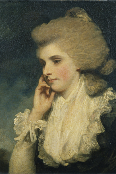 Frances, Countess of Lincoln by Joshua Reynolds, wallace Collection 1783 -84