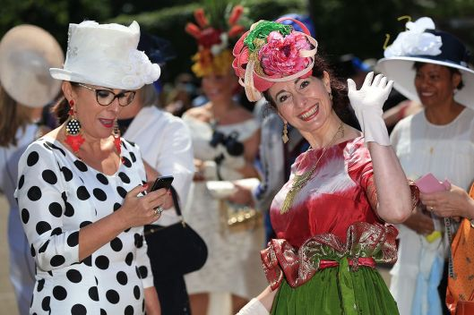 ascot, 2015, Ladies-day-, mirror, at-Royal-Ascot