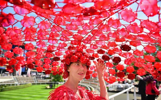 ASCOT, 2015, ladies day, telegraph _One_lady_sho_3346569k