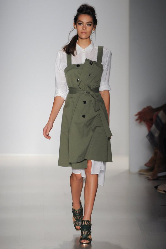 olive green, dress, to knee, marissa webb, s15, style, YVL_2271