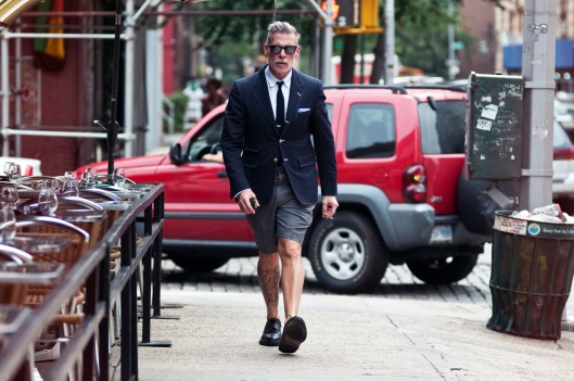 short trouser suiting, men, nick wooster