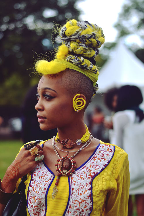 Fashion Speak Dictionary Entry And The Word Is Afropunk