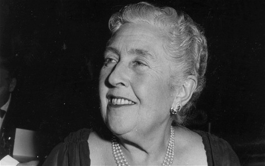 agatha-christie, portrait