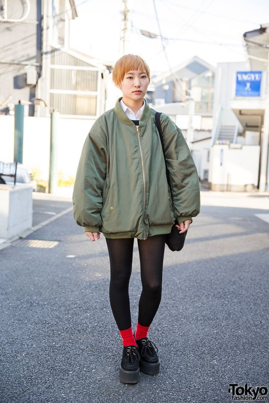 bomber jacket, ladies, oversized,