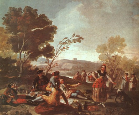 goya, everday, picnic-on-the-banks-of-the-manzanares-1776