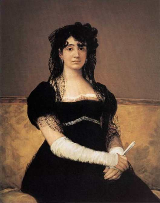 goya, portraits, antonia-zarate, 1805_06