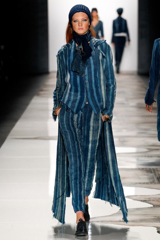 nyfw, s 2016, denim, long coat, vest, trousers, stripped, vogue_ARC0967