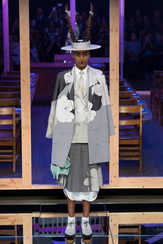 nyfw, s2016, thom browne, zoot suit meets the orient,