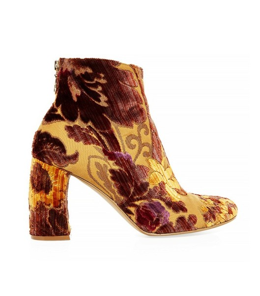 boot, crimson.gold, floral, textile, stella mccartney