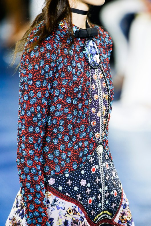 spring 2016, London, mary katrantzou, florals, detail, dress, vogue, _GAS0299
