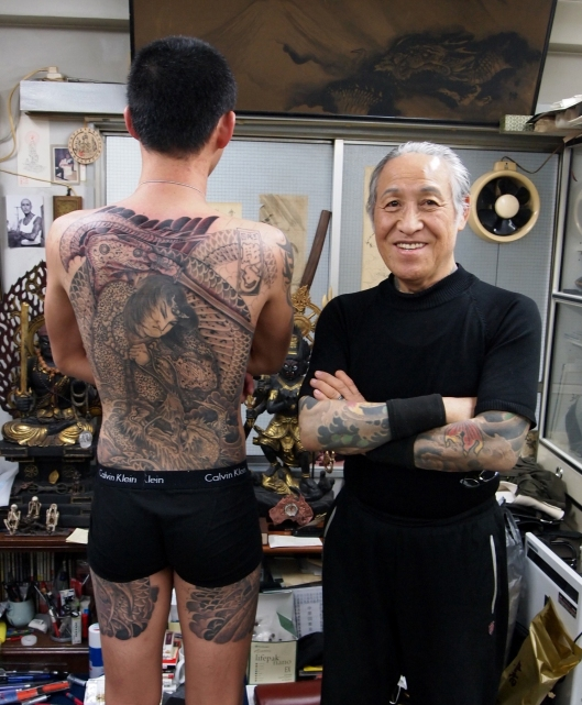 horiyoshi III, portrait, master and his craft, japantimes