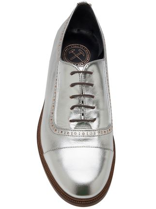 meandhershoes, lulu oxford,silver