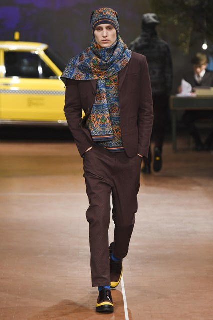 mens, accessory, a15, matching knit hat and scarf, antonio marras