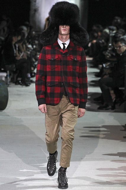 mens, accessory, oversized trapper, DSquared