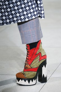pfw, ss 2016, miu miu detail, platform shoes
