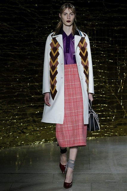 pfw, ss2015, miu miu, high waist pencil skirt